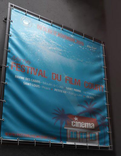 Affiche festival du film court (2019)