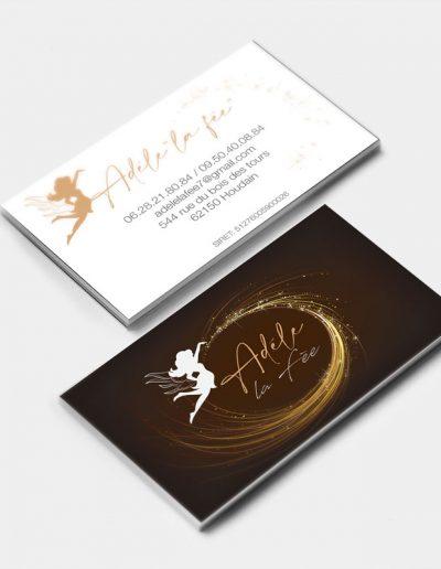 Carte de visite Adèle la fée