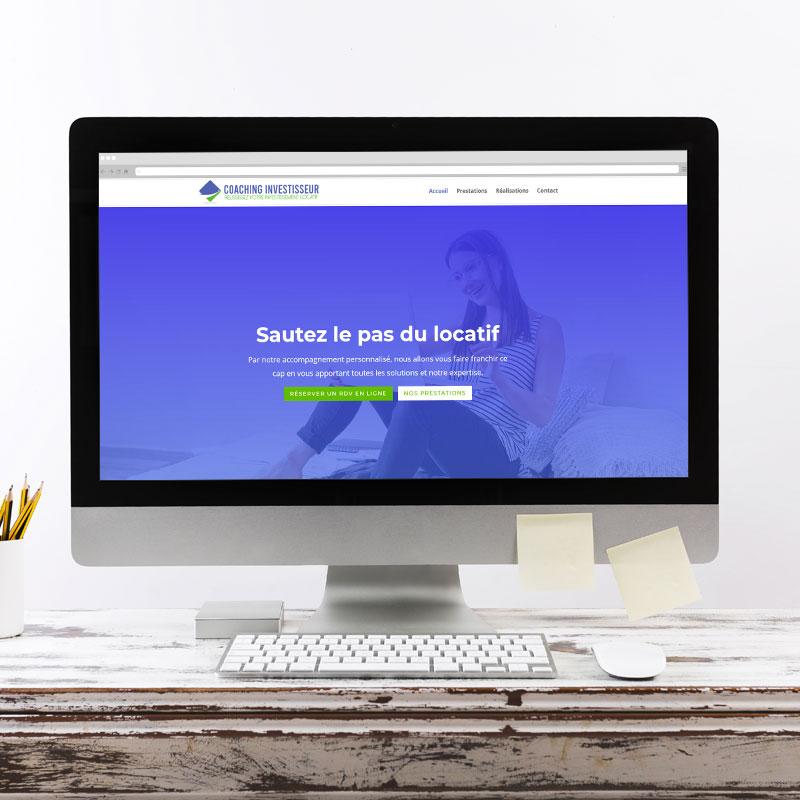 Création du site internet www.coaching-investisseur.fr