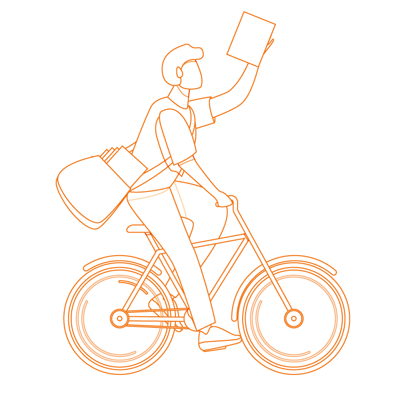 distribution de flyers