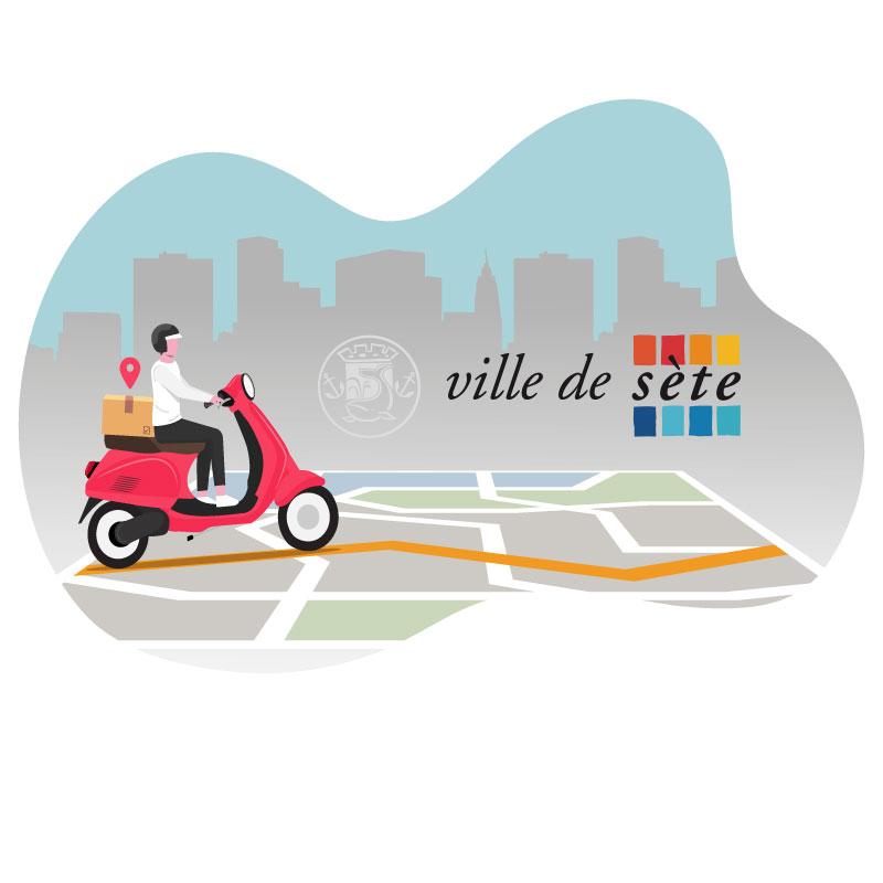 distribution flyer Sète, bassin de Thau