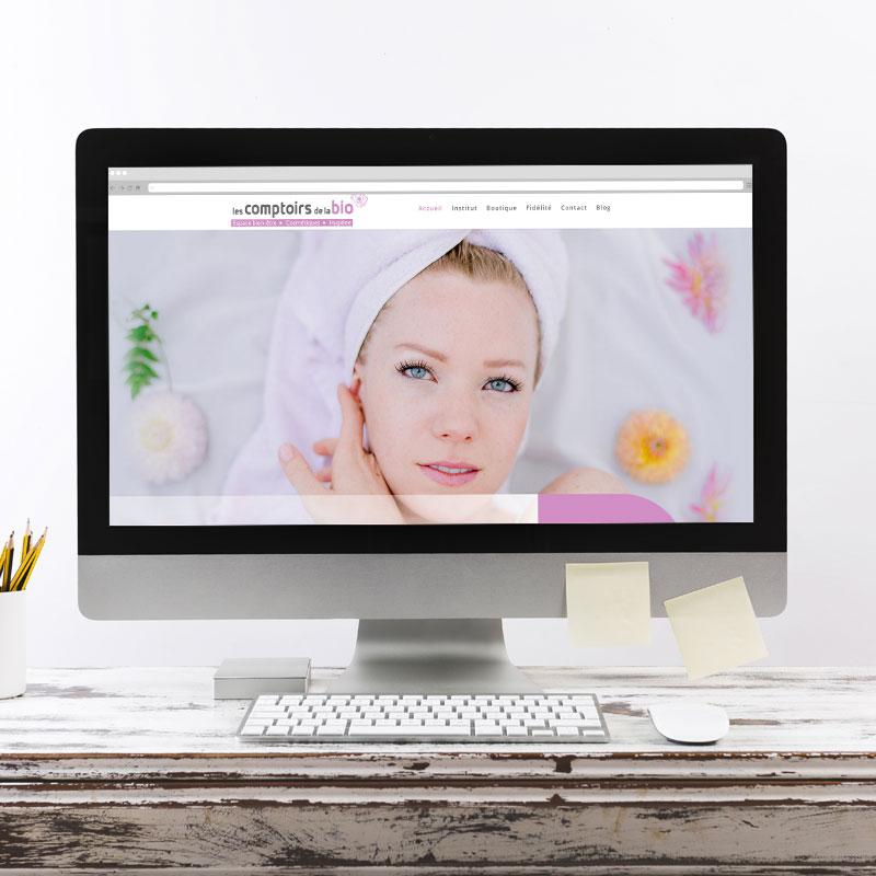 création site internet beauté